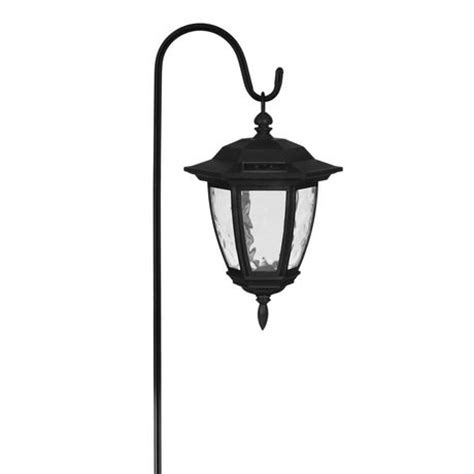 mainstays black hanging solar coach light walmart ca