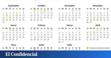 calendario escolar   en asturias dias festivos