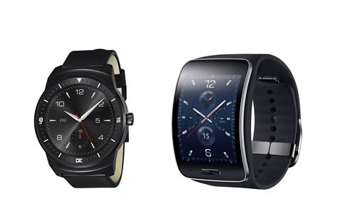 Samsung Gear S, Lg G Watch R Smartwatches Unveiled Ahead