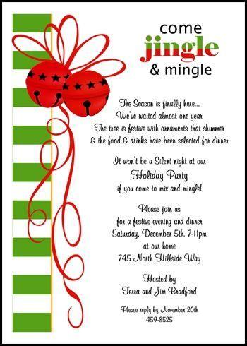 Jingle Mingle Christmas Party Invitations for 2016 Shop