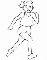 Coloring Track Runner Printable Olympic Clipart Jog Colouring Olympics Clip Run Colour Runners Field Race Printables Cliparts David Popular sketch template