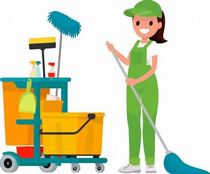 Clipart Cleaning Lady Clean Office Tags