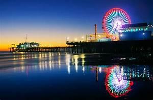 Santa Monica Pier - Santa Monica, CA - Sunset
