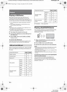 Sony Xavax7000 Av Receiver User Manual Xav Ax7000