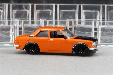 Datsun 510 Coupe by 1971 Datsun 510 Coupe Orange By Deanomite17703 On
