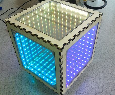 How To Make An Infinity Mirror Box Infinity Mirror Coffee