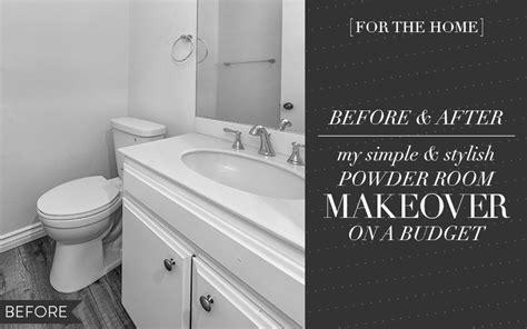home    powder room makeover