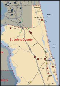 St Johns County Map