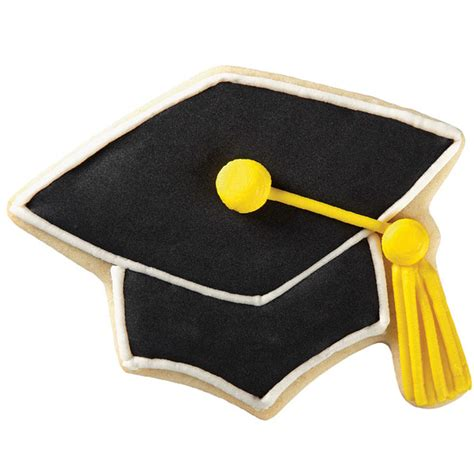 graduation hat black graduation cap cookies wilton