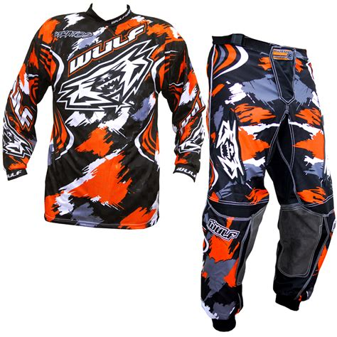 wulf motocross wulfsport stratos orange motocross mx wulf jersey shirt