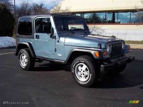gunmetal blue jeep 1998 gun metal pearl jeep wrangler se 4x4 24138675 photo