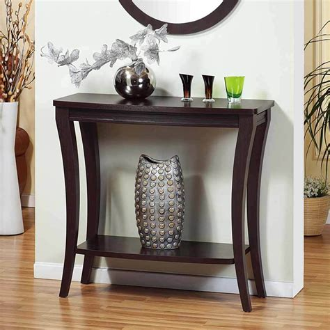 Entryway Consoles - modern accent foyer entryway console sofa side table