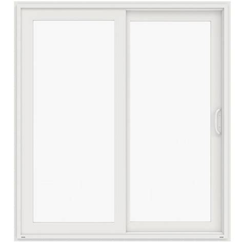 jeld wen 72 in x 80 in v 4500 white prehung left