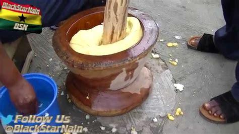 pounding fufu  kumasi ghana easy ethnic recipes