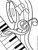 Coloring Pages Sound Getcolorings Musical Audio Theme Printable sketch template