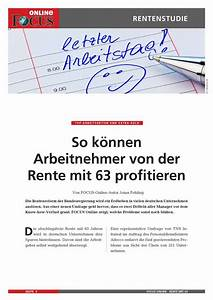 Früher In Rente : rente mit 63 focus online pdf shop ~ Lizthompson.info Haus und Dekorationen
