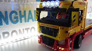 Lego Led Beleuchtung : lego technik tieflader mit led beleuchtung per arduino gesteuert youtube ~ Orissabook.com Haus und Dekorationen