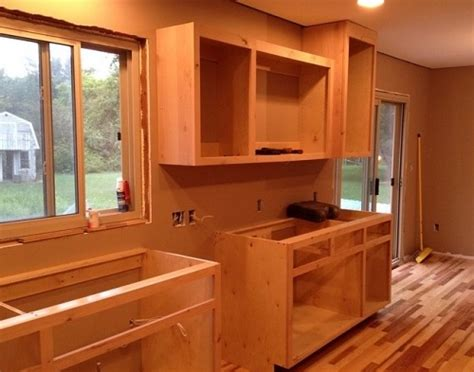 how to build kitchen base cabinets from scratch how to build kitchen cabinets 5 steps