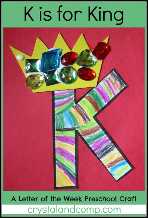 alphabet activities for preschoolers k is for king 228 | K is for King 1 crystalandcomp 697x1024
