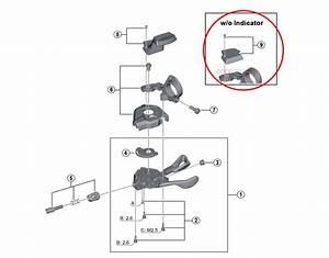 Cap Shifter Indicator Shimano Xt Sl