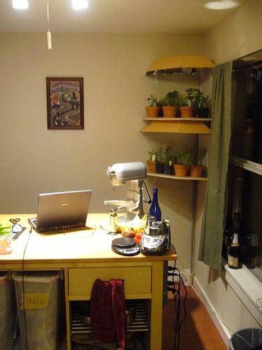 kitchen herb garden shelving unit  steps