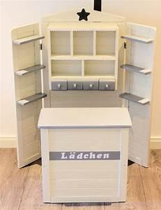 Kaufladen Selber Bauen : kaufladen wei grau domis pusteblume pinterest ~ Michelbontemps.com Haus und Dekorationen