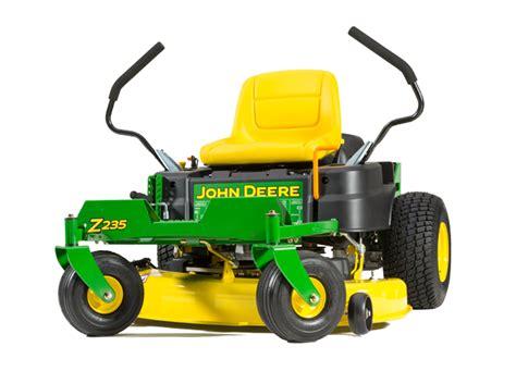 deere z235 zero turn mower beacon equipment