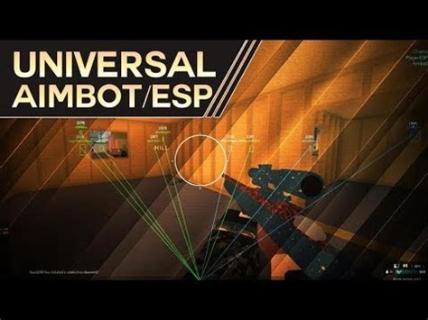 universal aimbotesp showcase beta youtube