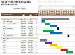 construction schedule template fee schedule template With building work schedule template