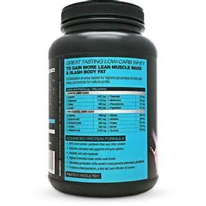Whey Protein Powder Supplement