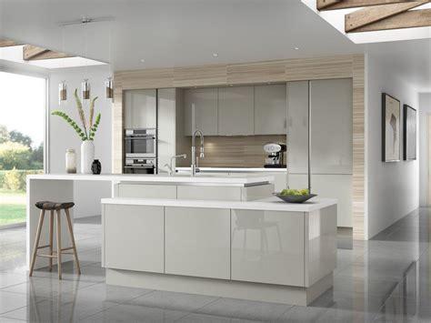 cuisine gris clair et blanc couleur pour cuisine 105 idées de peinture murale et façade