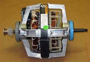 Wp279827 Dryer Motor For Whirlpool Roper Kenmore 3395652
