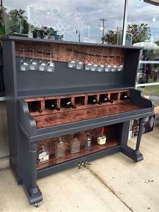 old piano upcycling ideas furnish burnish With what kind of paint to use on kitchen cabinets for musical instrument wall art