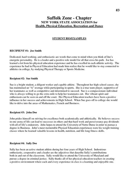 Sle Biography Template For Students by Best Photos Of Autobiography Template For Students