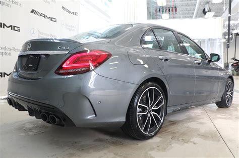 Amg, of course, is the german. New 2020 Mercedes-Benz C-Class C43 AMG 4MATIC 4-Door Sedan ...