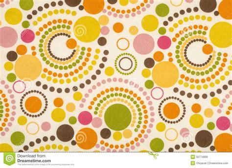 polka dot design colorful polka dot fabric royalty free stock images