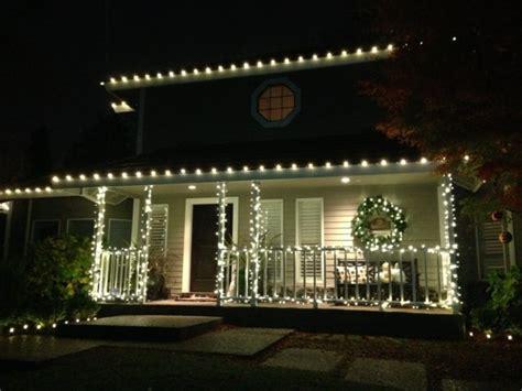 decorar terrazas  balcones en navidad  ideas