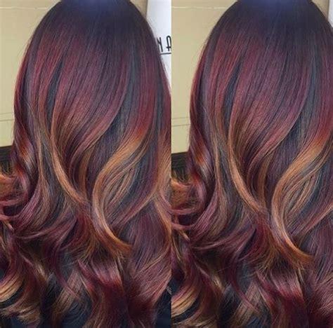 sexiest mahogany hair color inspiration hair fashion