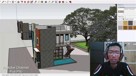 masuk akal kah desain rumah ukuran xm lantai kolam renang