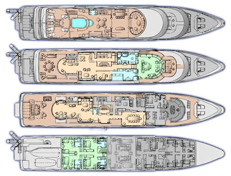 Yacht Plans by Oceanco Unveils More Details About 107m Motor Yacht