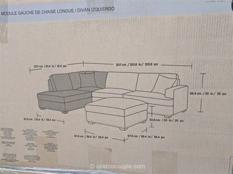 bainbridge sinclair fabric sectional