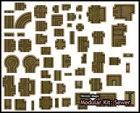 Fiberglass Ceiling Tiles Menards by 18 3d Printed Dungeon Tiles Heroic Maps Modular Kit