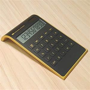 letitfly calculator slim design office home