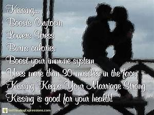 The Health Benefits Of Kissing Pictures  Photos  And