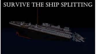 Titanic Sinking Simulation Download by Roblox Titanic Roblox
