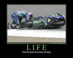 Life Funny Motorcycle Motivation Poster