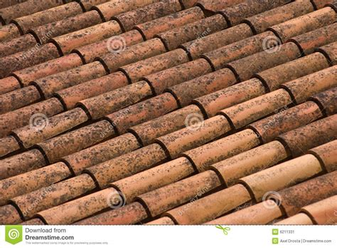 clay roof shingles stock image image 6211331