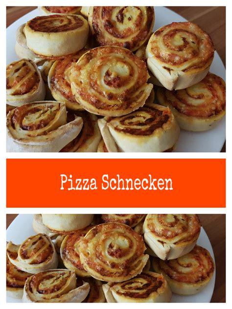 fingerfood leicht gemacht rezept f 252 r pizza schnecken leicht gemacht schmeckt warm und kalt snacks f 252 r