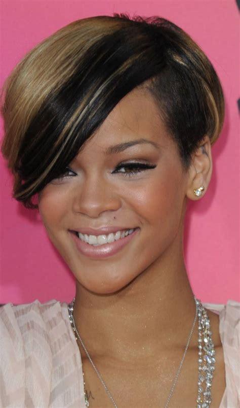 Bob Frisuren Die Moderne Kurzhaarfrisurbob Frisur Rihanna by 10 Trendy Rihanna S Kurze Frisuren Haar Stil F 252 R Alle