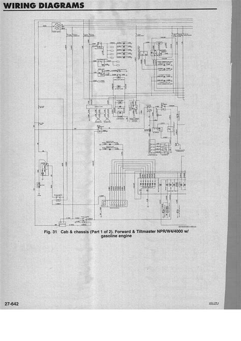 Wiring Diagram For Isuzu Dmax by Wiring Diagram For 1994 Isuzu Npr Gas Engine